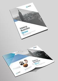 企业文化产品宣传画册封面设计