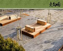 公共景观座椅