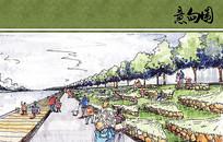 宁波中心区双环舞龙之地手绘