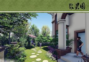 私家花园效果图