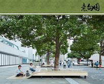 公园树池坐凳意向图 JPG
