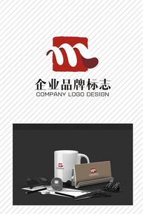 简洁企业品牌标志设计