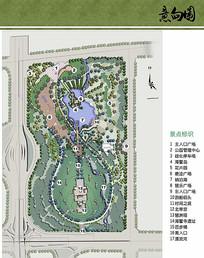 琶洲塔公园景观规划彩平图