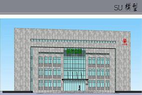 研发中心大楼模型