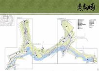 游艇会所景观公园地块彩平图