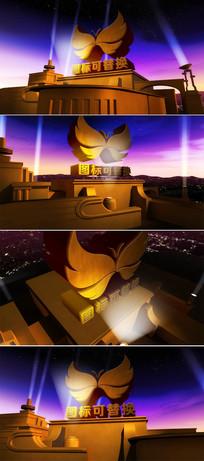 震撼大气3d影视开场片头模板