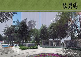 住宅区景观节点设计