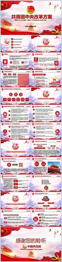 共青团中央改革方案学习ppt