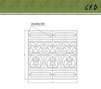 大门花纹设计