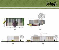 地库构架设计