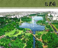 东升城市公园中心公园效果图