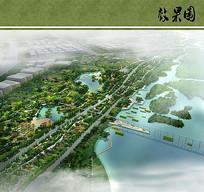 公园景观水源生态保护区效果