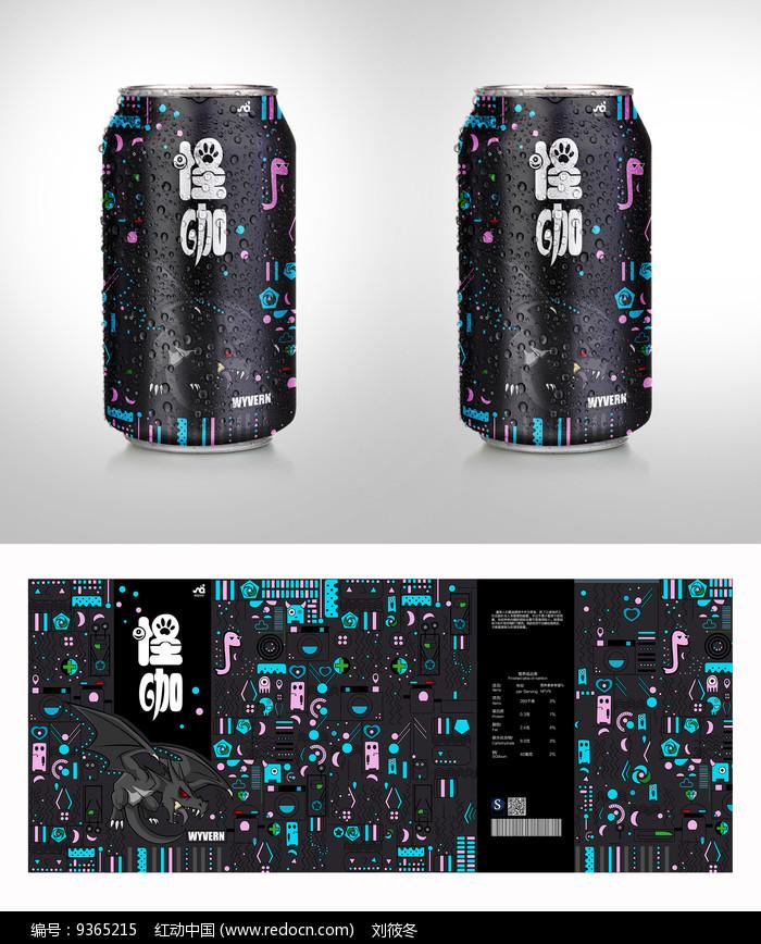 怪咖饮料包装图片
