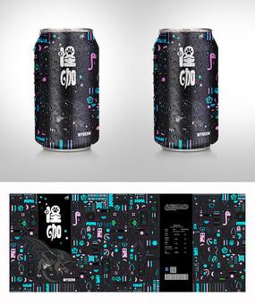 怪咖饮料包装 AI