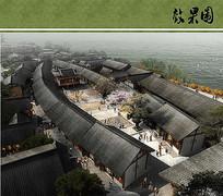 沱江公园罗城商业透视图 JPG