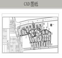 居住小区总平面图CAD