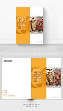 面包烘焙宣传册封面设计