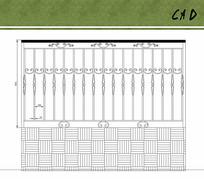 欧式铁艺栏杆围墙花纹