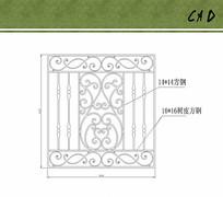 铁艺大门花纹方案设计