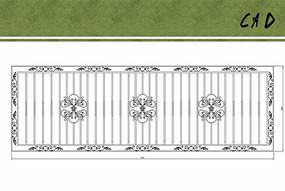 铁艺栏杆花纹设计