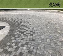 圆形广场铺装 JPG