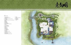 总统别墅景观设计平面图