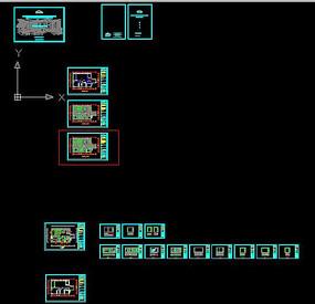 CAD法式风格套房施工图