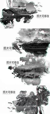 大气水墨中国风开场片头模板