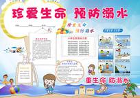 防溺水教育小报