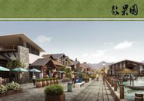 武陵源索溪古街街道景观 JPG