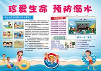 预防溺水宣传小报