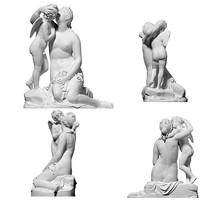 爱神丘比特天使亲吻维纳斯雕像