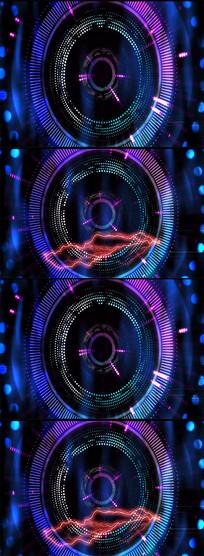 动感动态led舞台背景视频
