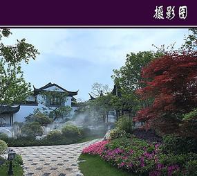 上海徽派园林建筑
