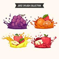 水果标签素材