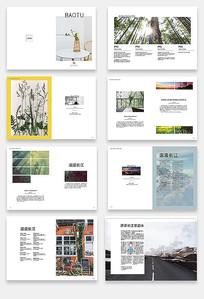 木业企业宣传画册设计模版