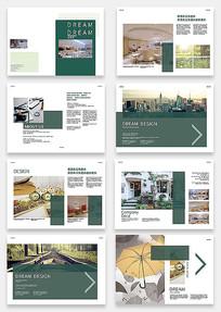 商务企业宣传画册设计模版