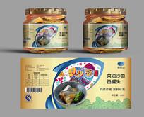 鱼罐头创意包装