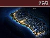 滨江景观夜景效果图 JPG