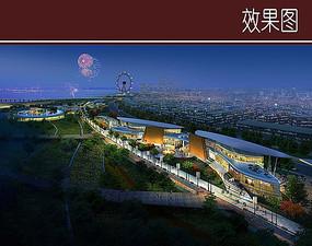 滨江商城景观效果图
