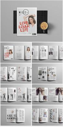 产品杂志画册设计 indd