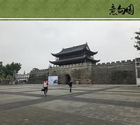 古城墙景观意向图