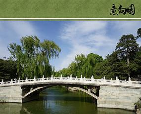古典园林景观桥