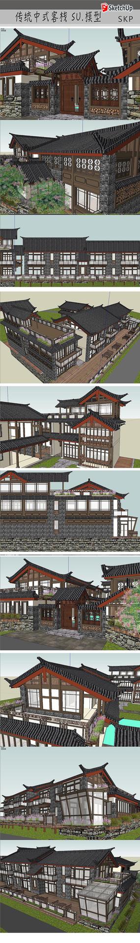古仿客栈建筑设计