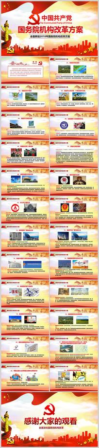 国务院机构改革方案学习PPT