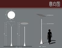 酒吧街特色灯柱详图 JPG