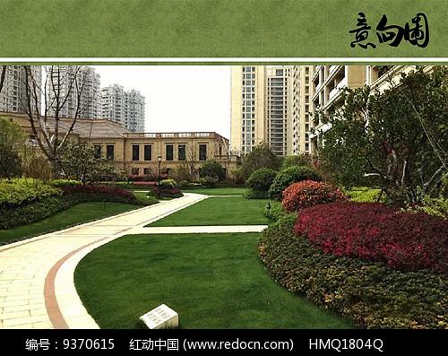 欧式住宅区绿化设计