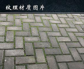 石砖路面图