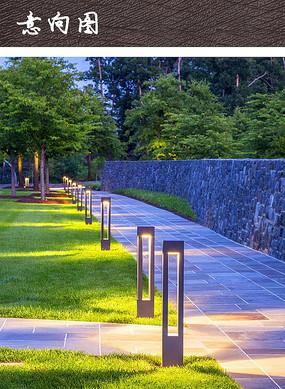 现代简约草坪灯
