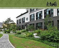 中式住宅区绿化设计